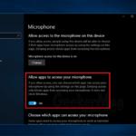 Fix – Microphone not working in Windows 10 April 2018 Update