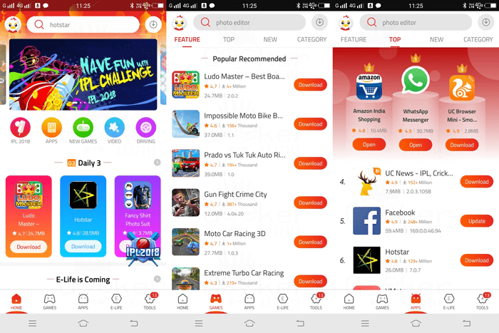 9Apps - The Free App Store for Android