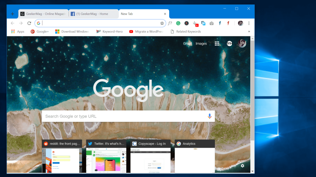 How to Unlock Google Chrome Material Design Look - 2018
