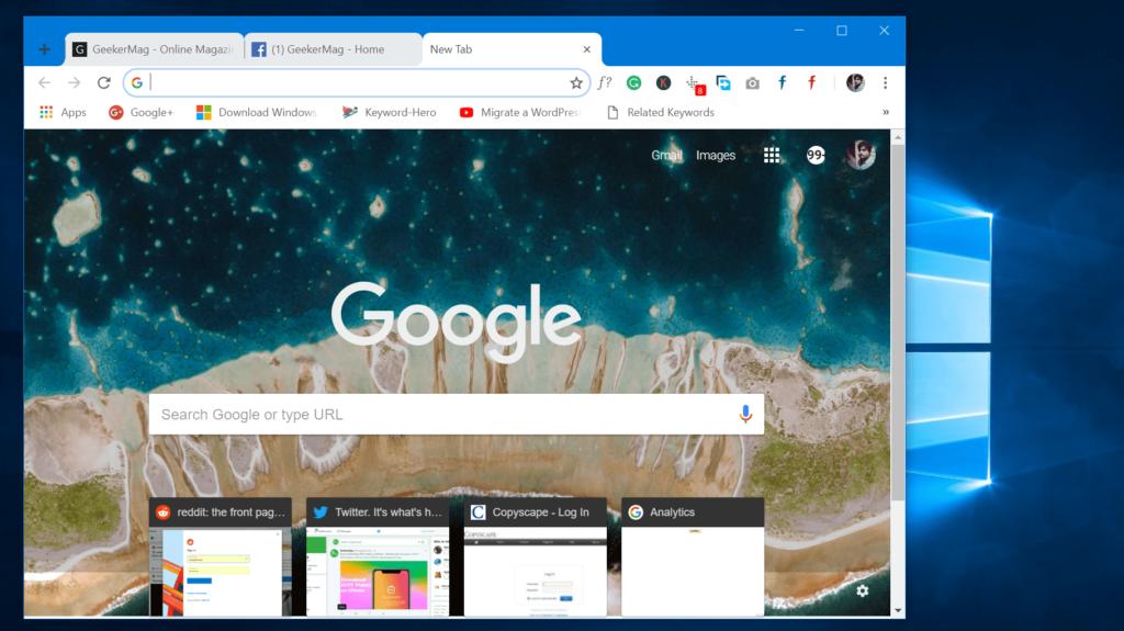 How to Unlock Google Chrome Material Design Look - 2018