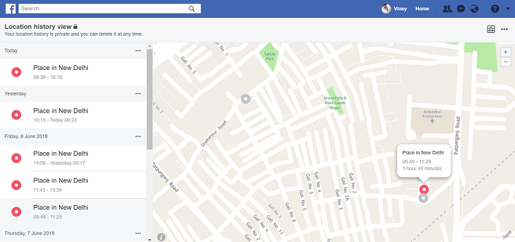 How to View and Delete Your Location History on Facebook