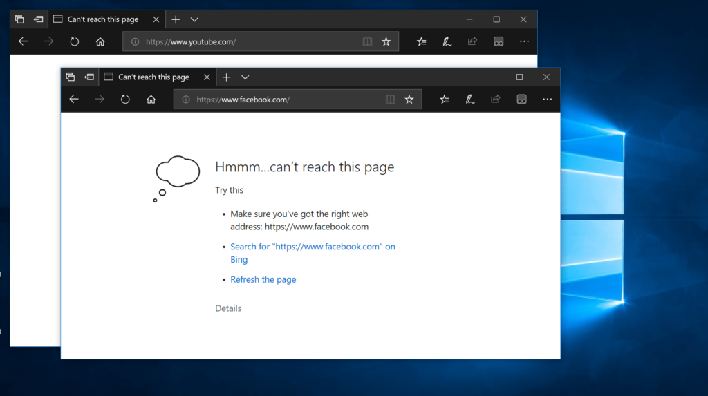 How to Block Websites on Microsoft Edge in Windows 10