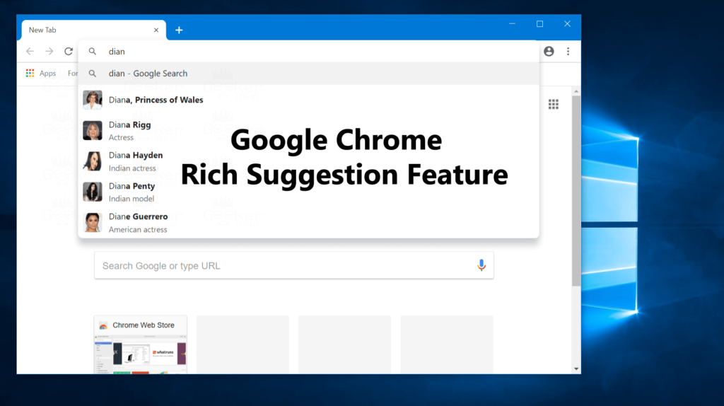 How to Enable Rich Search Suggestions in Google Chrome