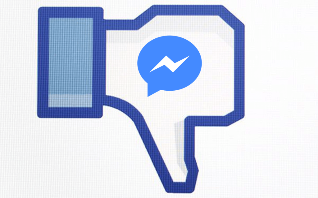 is facebook messenger down right now