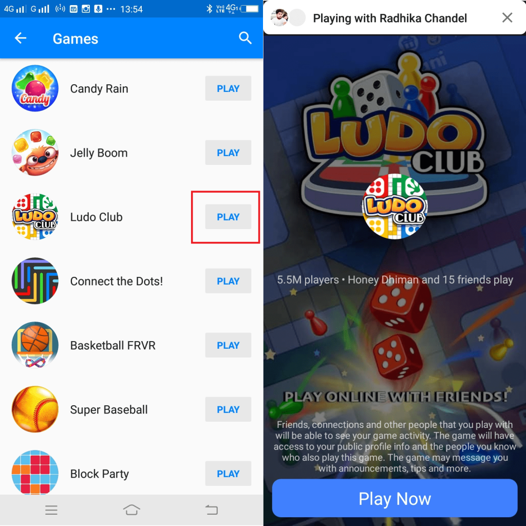 play games with friends on facebook messenger