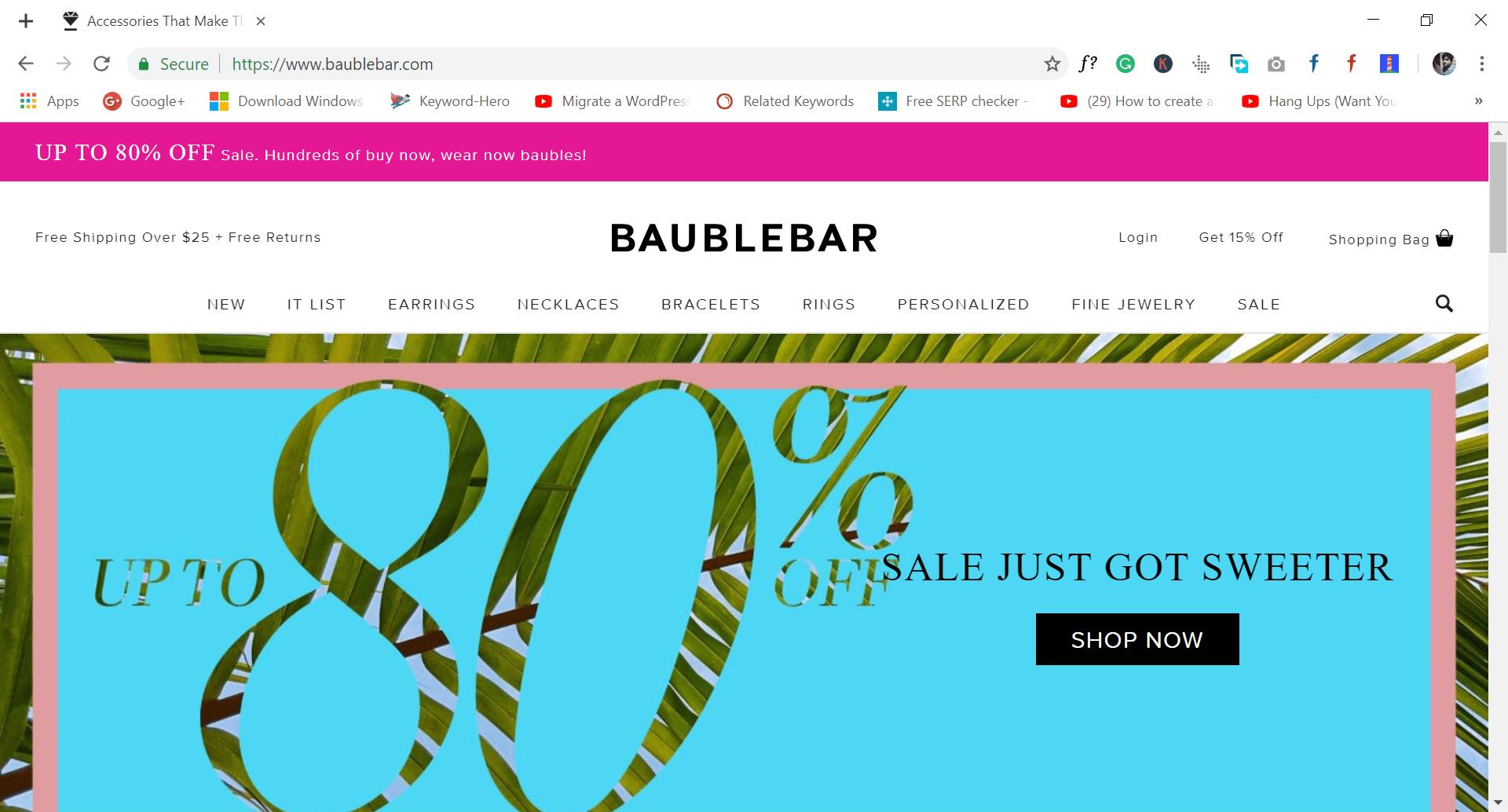 baublebar - site like wish.com