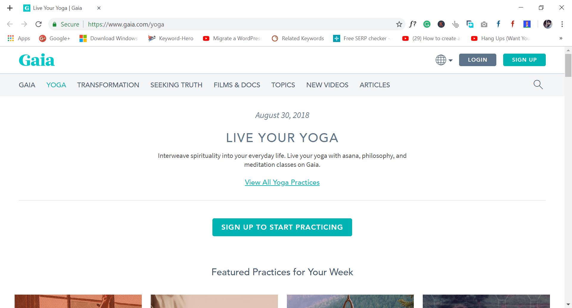 gaia -site like wish.com