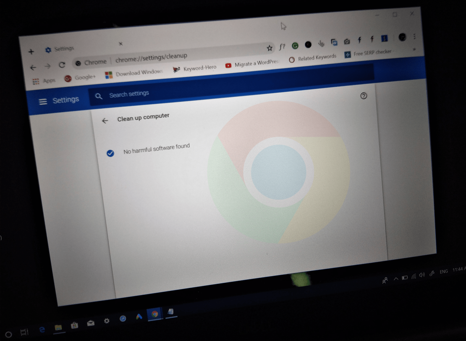 How to Run Google Chrome Cleanup Tool
