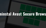 how to uninstall avast secure browser