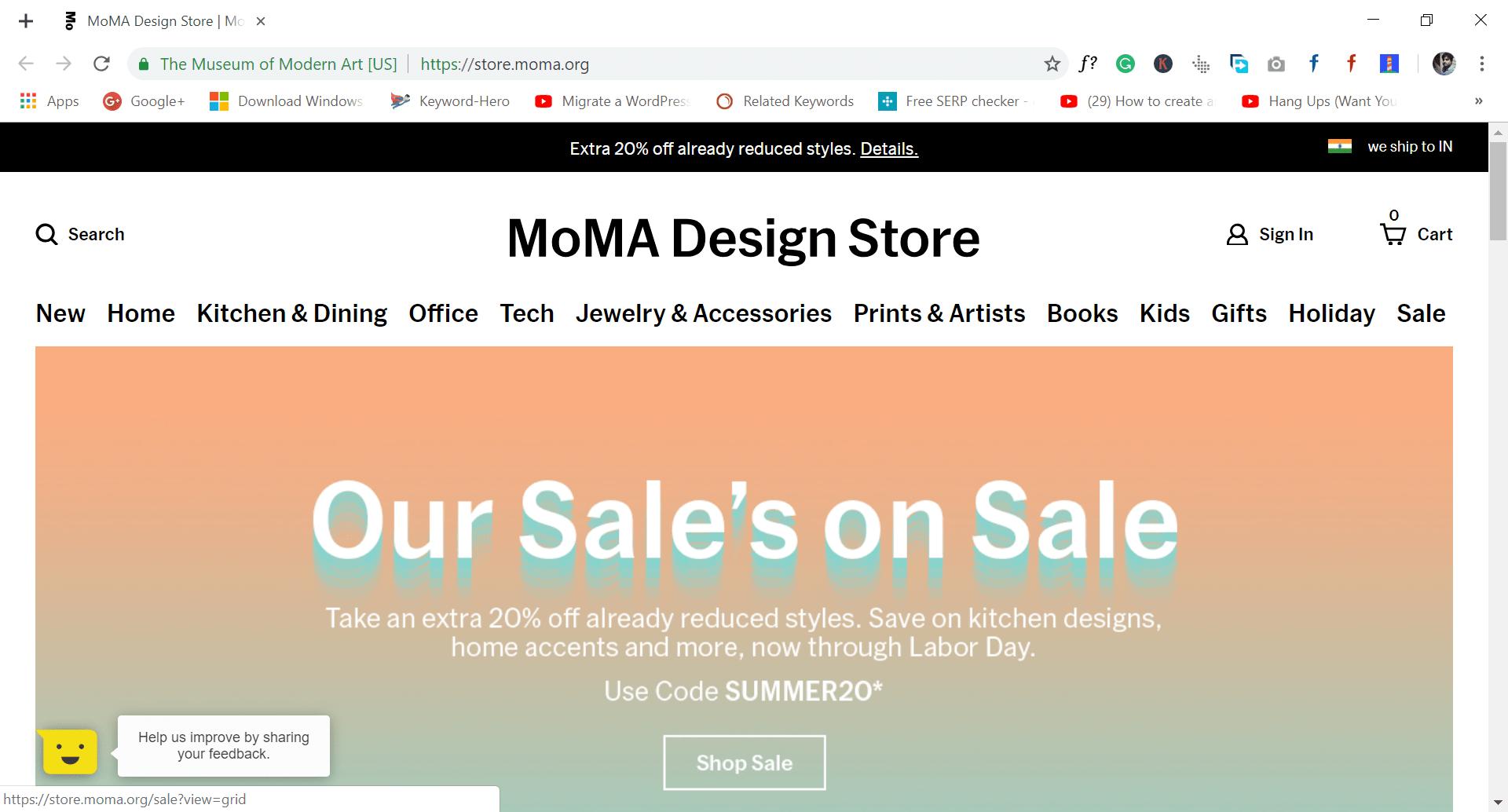 moma - site like wish.com