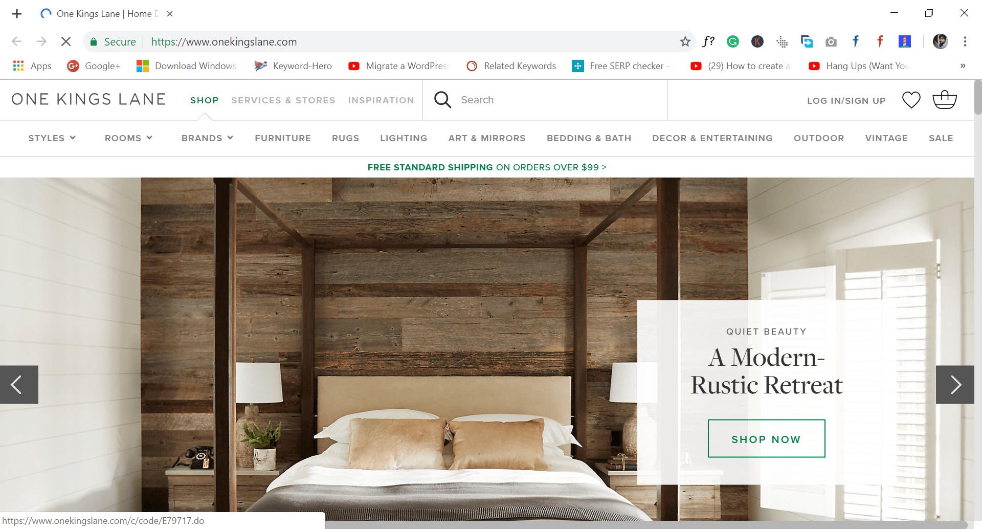 onekingslane - site like wish.com