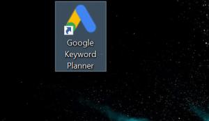 shortcut for google keyword planner