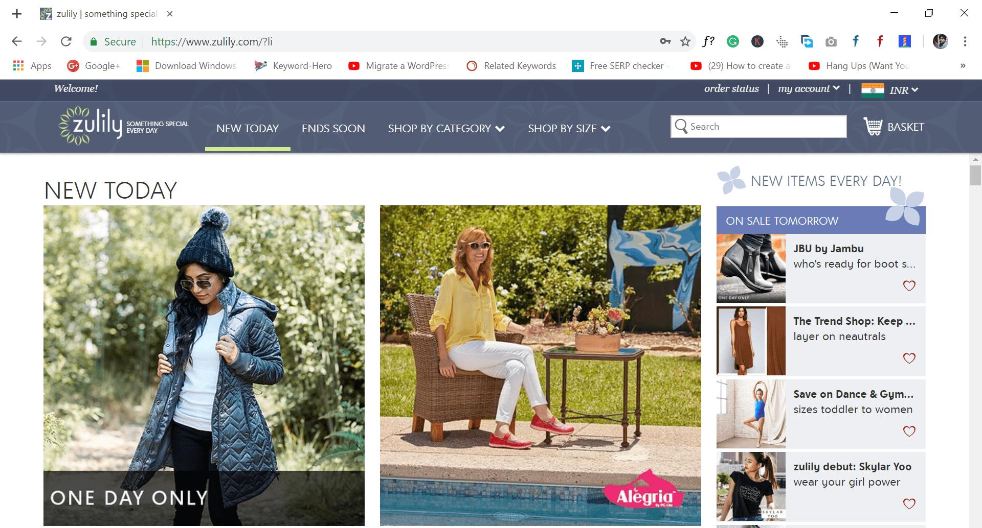 zulily - site like wish.com