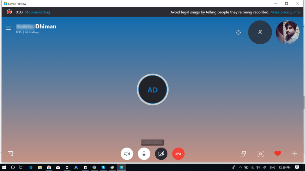 How to Record Skype Call with Native Skype Recorder Feature