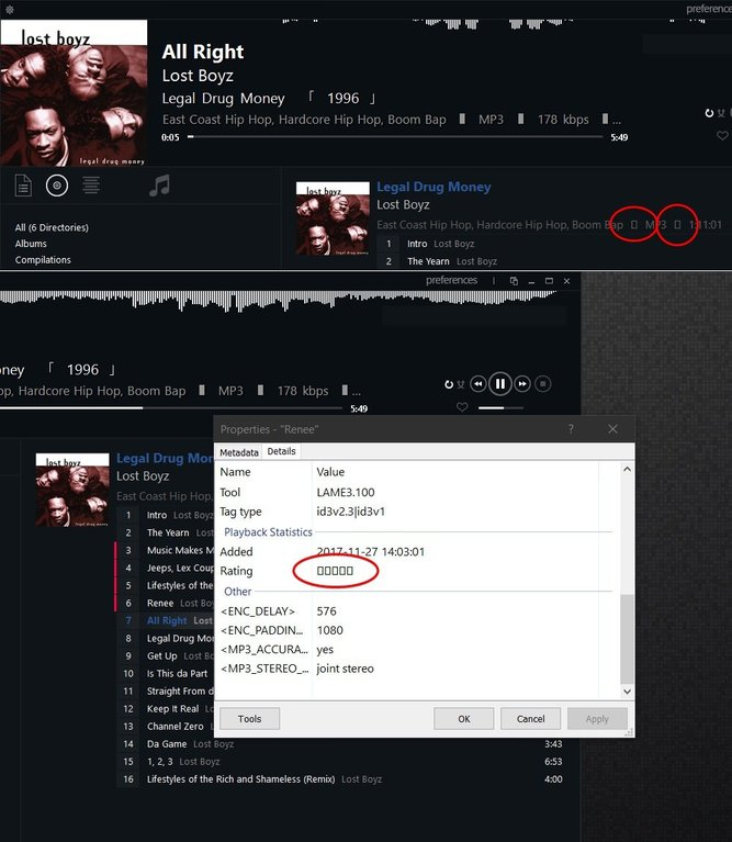 Windows 10 Font Issue Foobar 2000