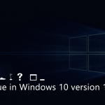 Fix – Windows 10 Version 1809 Font Issues (Suggestion)