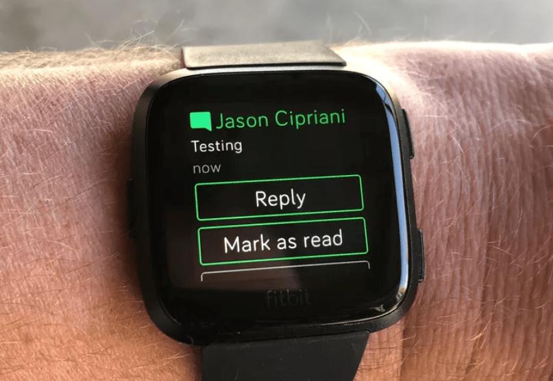 fitbit app reply