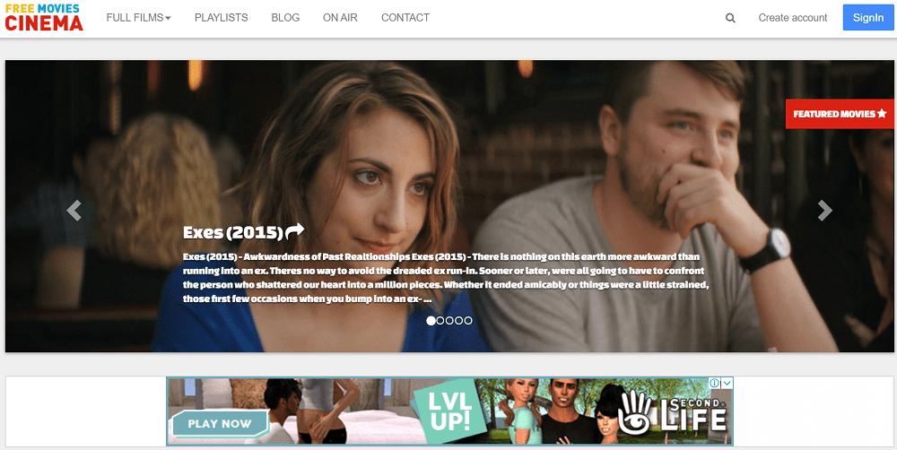 free movies online - best free movie streaming site