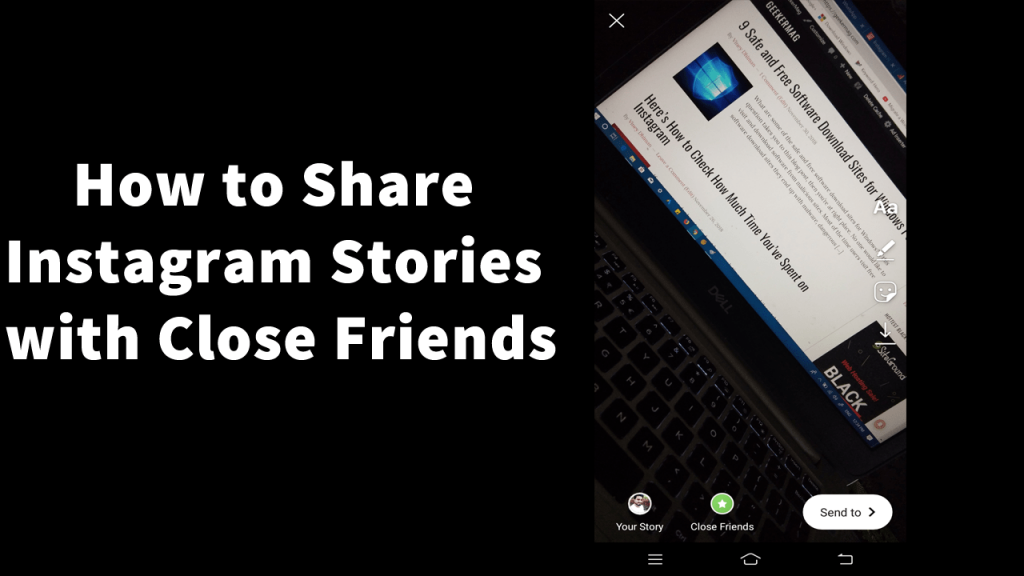 How to Share Instagram Stories with Close friends