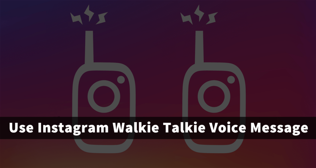 instagram voice messaging feature