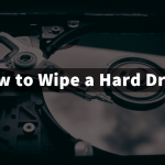 how to wipe a hard drive in windows 10