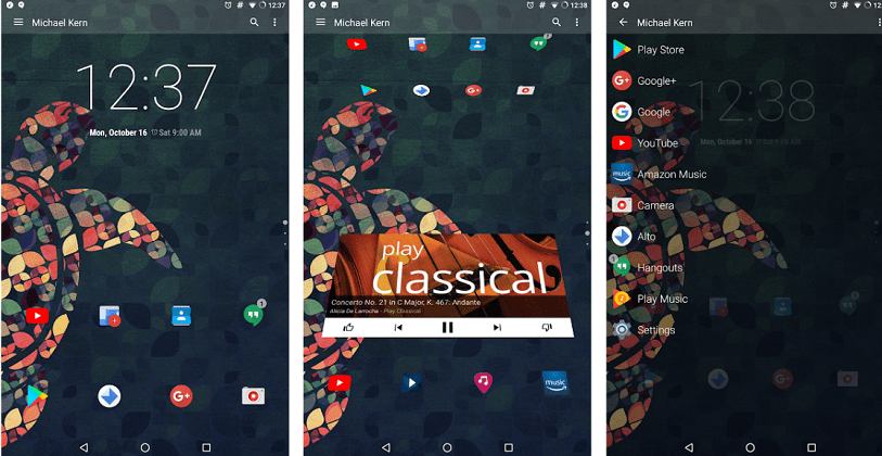lucid launcher for android