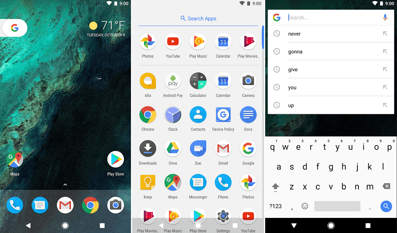 pixel launcher for android