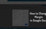 how to change margins in google docs 2019