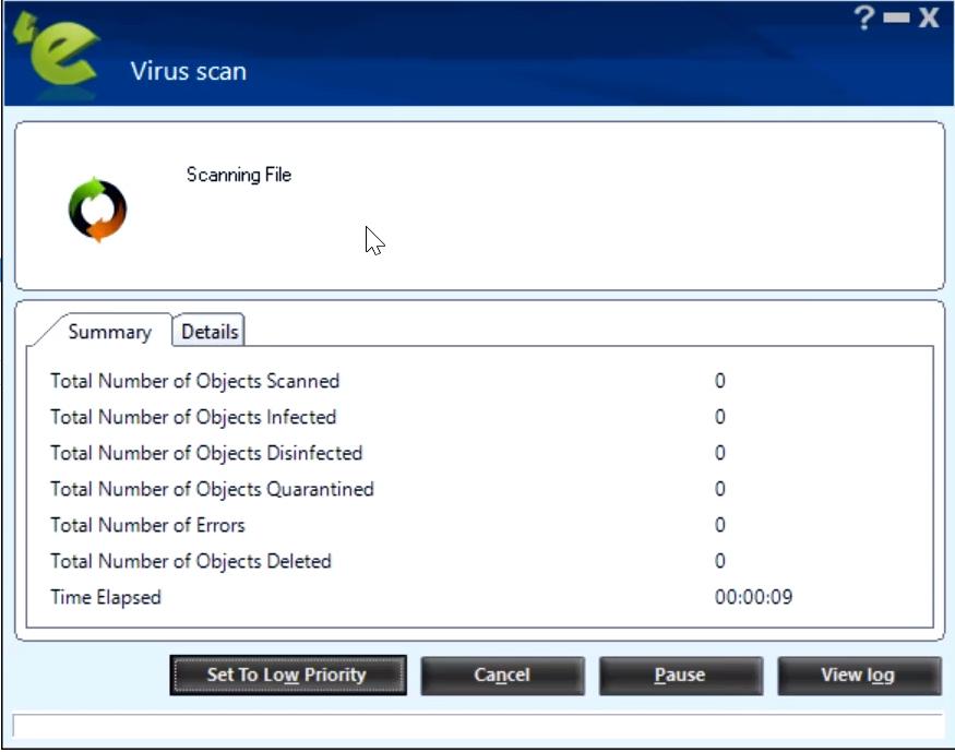 escan free antivirus 2019