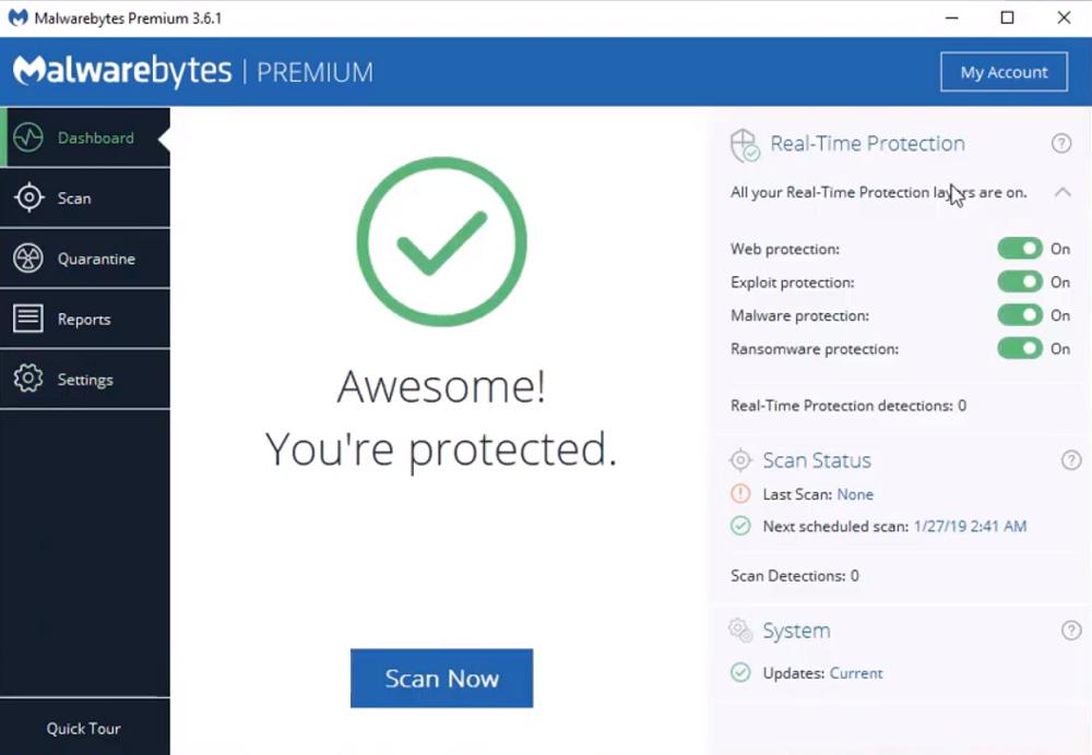 malwarebytes free antimalware 2019