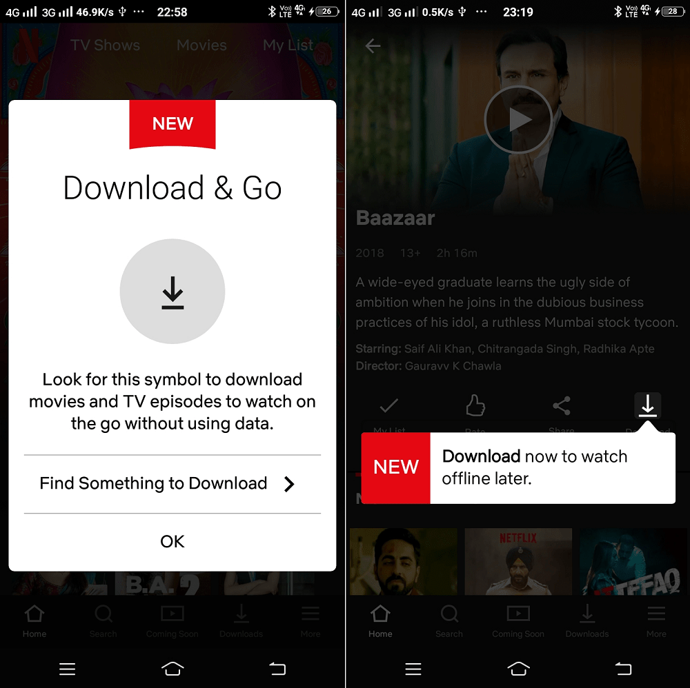 Download and Go - Netflix Smart Download