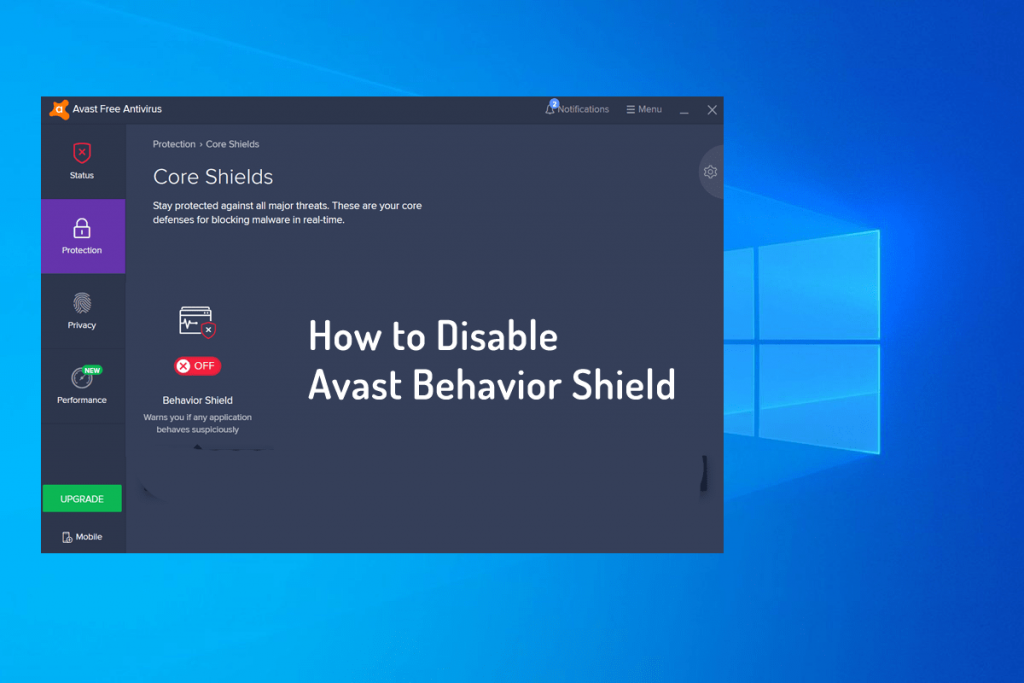 How to Disable Avast Behavior Shield - 2019