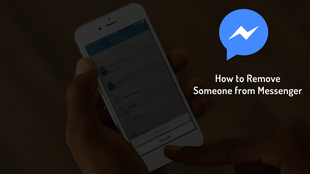how to remove someone from messenger