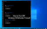 how to disable windows defender firewall
