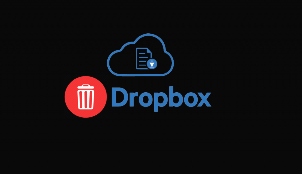 how to delete dropbox account