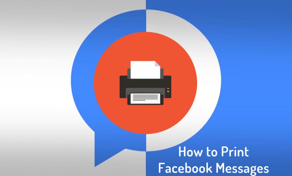 facebook messages printout