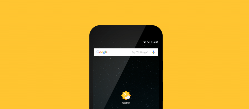 How to Get Google Weather app on Android Homescreen