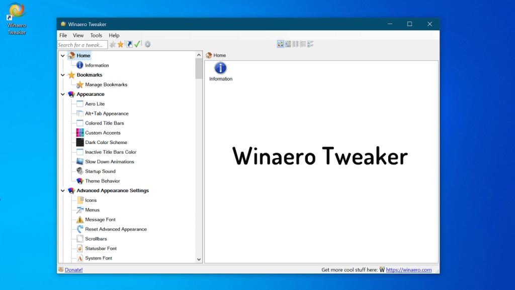 Winaero Tweaker - The Best Windows 10 Tweaker 2019