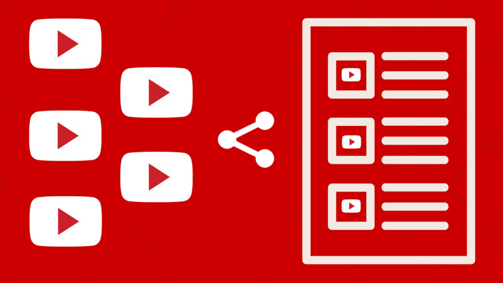 how to share youtube playlist with someone