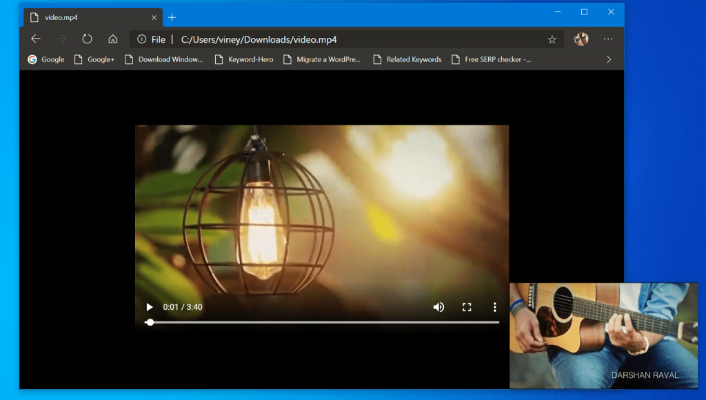 How to Watch Local Video Files in Chrome Picture-In-Picture Mode
