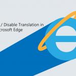 How to Enable/Disable Microsoft Translator in Microsoft Edge Chromium.