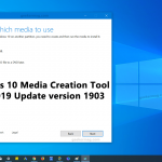 download iso images of windows 10 may 2019 update using media creation tool