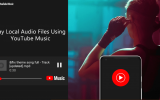 how to use Youtube music to play local audio files