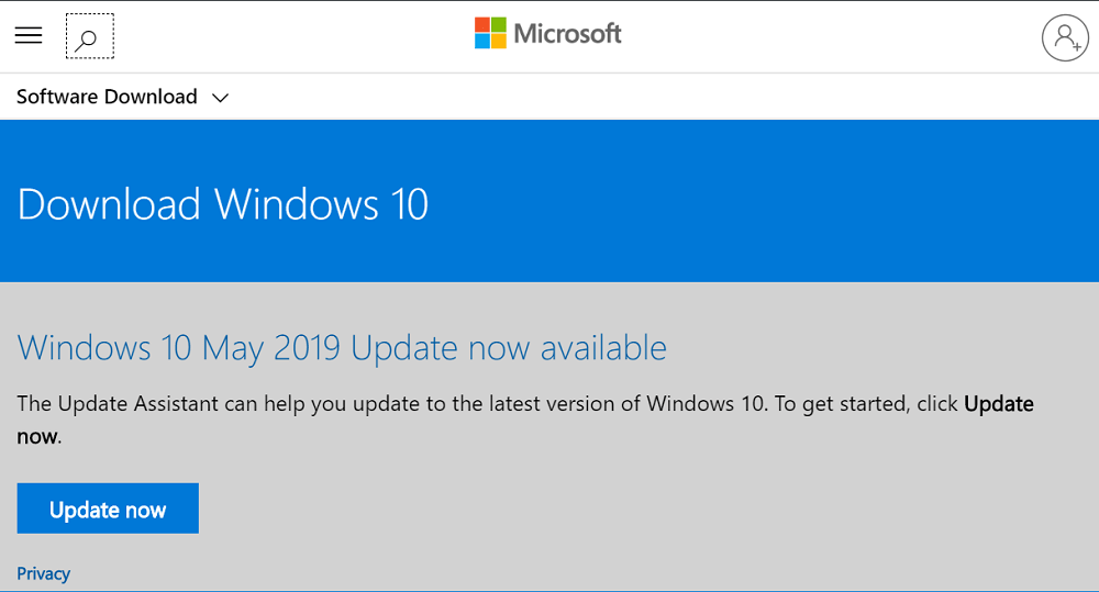 Windows 10 May 2019 Update now available