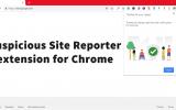 suspicious site reporter extension for chrome