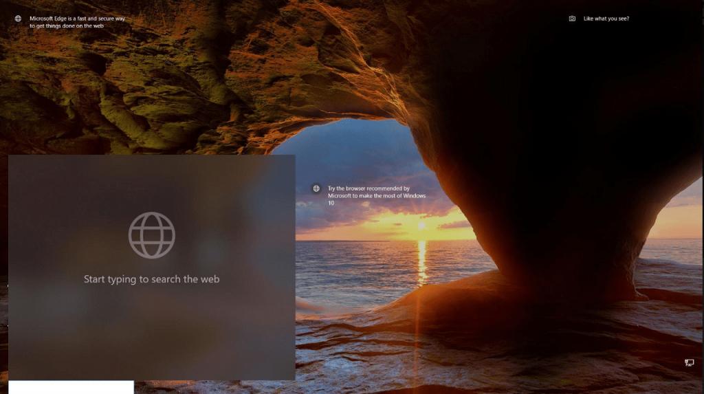 lockscreen search box