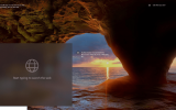 how to enable search box on windows 10 lock screen