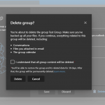 How to Delete a Group in Outlook.com