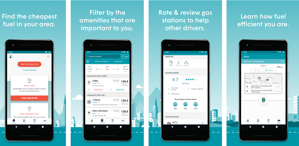 gasbuddy for android and ios