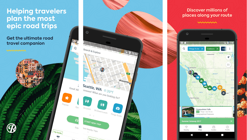 roadtrippers for android and ios